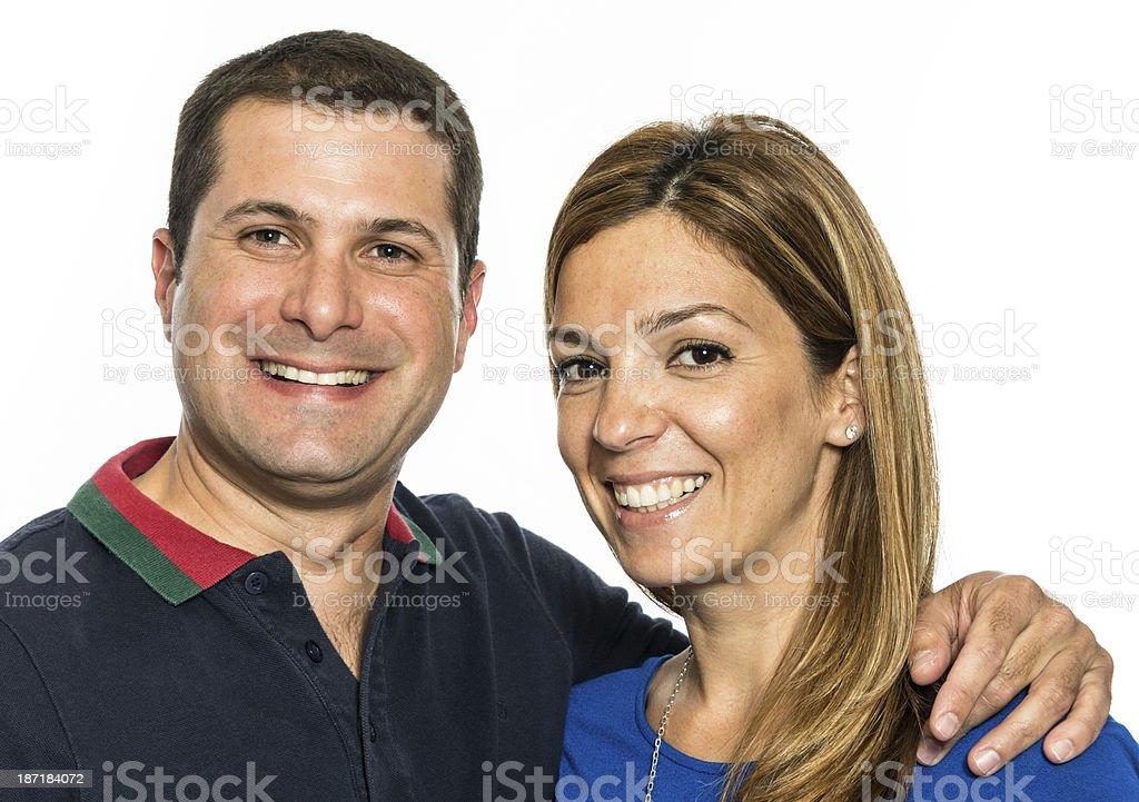 Mature hispanic couple stock photo