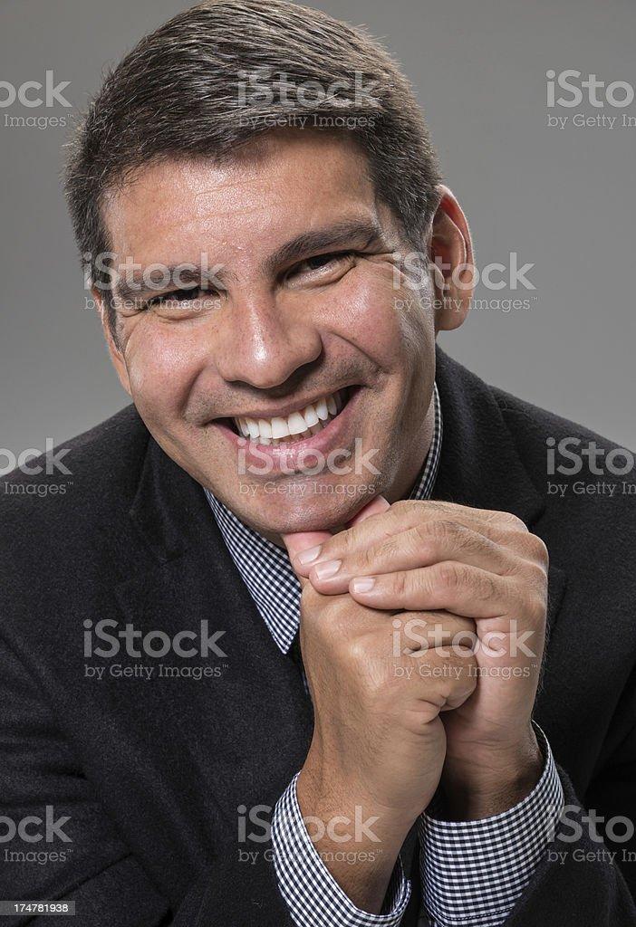 Mature Hispanic Executive royalty-free stock photo
