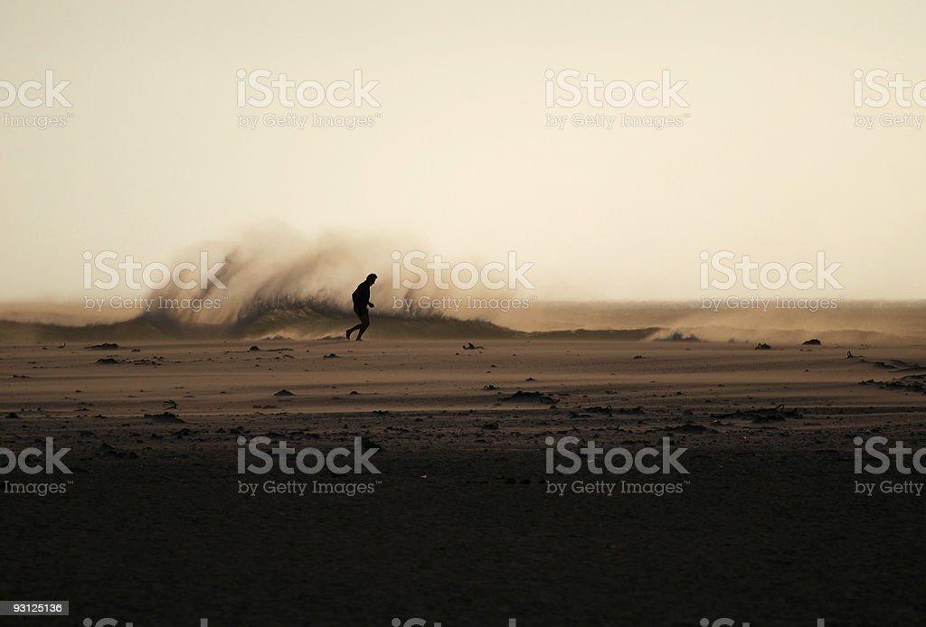 Mature Jogger stock photo