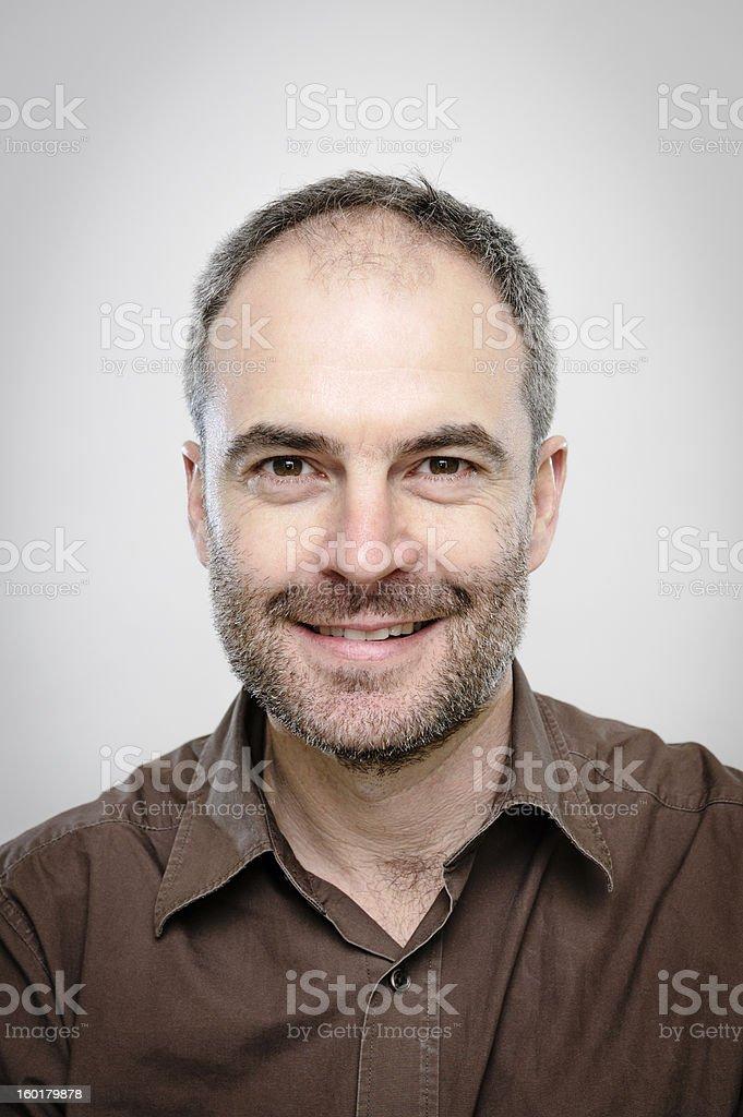 Mature Man - Character Portrait stock photo