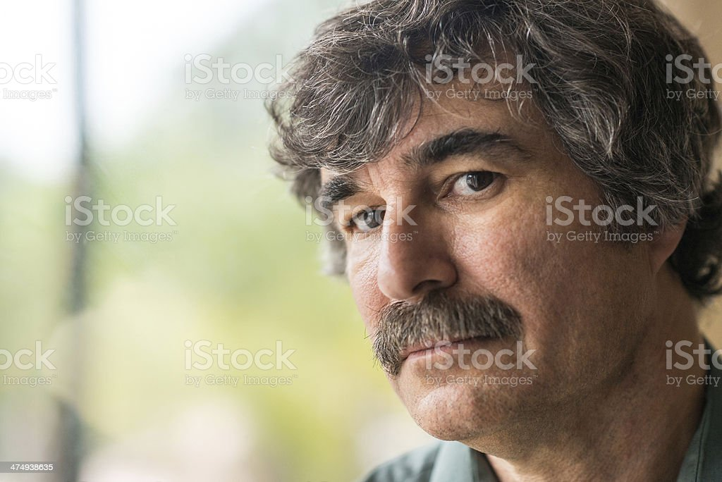 Mature man (50-55) royalty-free stock photo