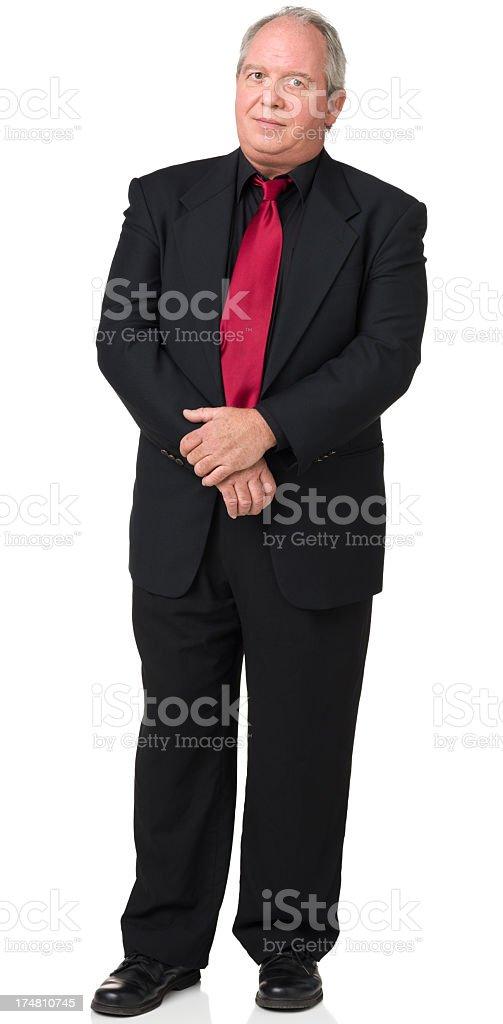 Mature Man Standing Portrait royalty-free stock photo