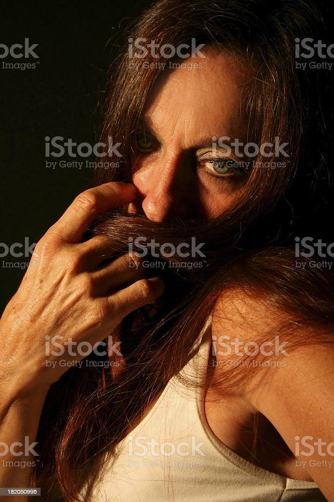 Mature Woman royalty-free stock photo