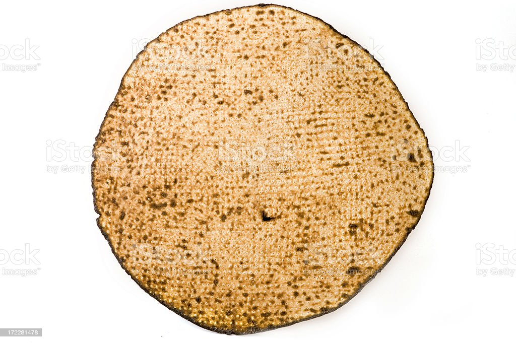Matza for Passover stock photo