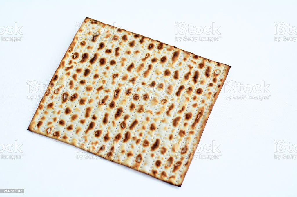 Matza - Passover Jewish Holiday stock photo