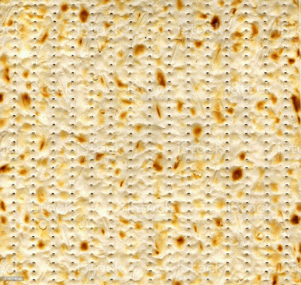 Matza (Texture) stock photo