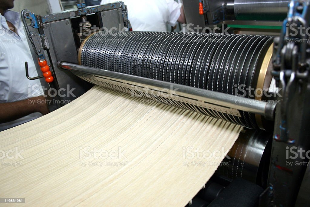 Matzah Hole Roller royalty-free stock photo