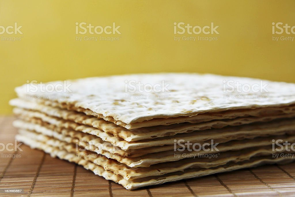 Matzah stock photo