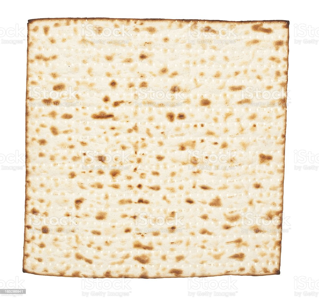 Matzah. royalty-free stock photo