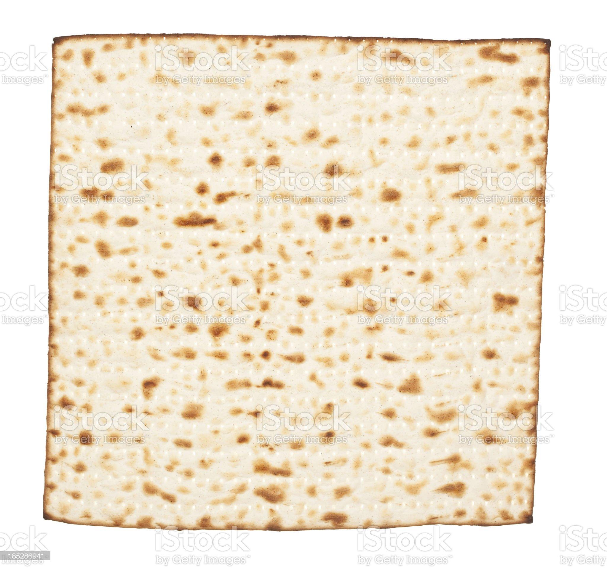 Matzah. royalty-free stock photo