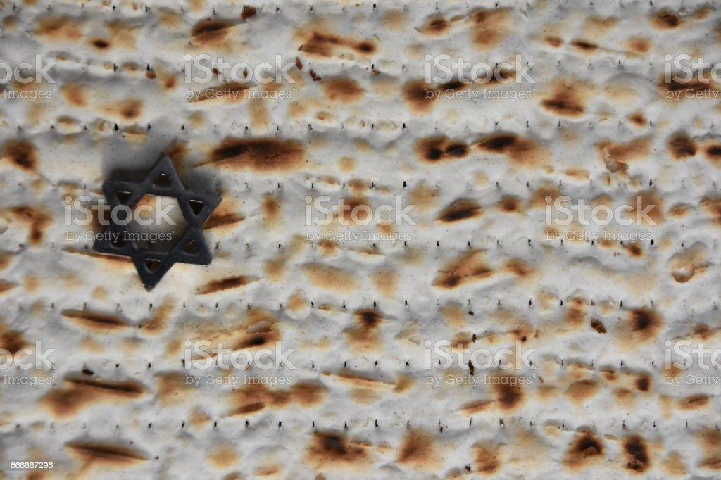 Matzo background stock photo