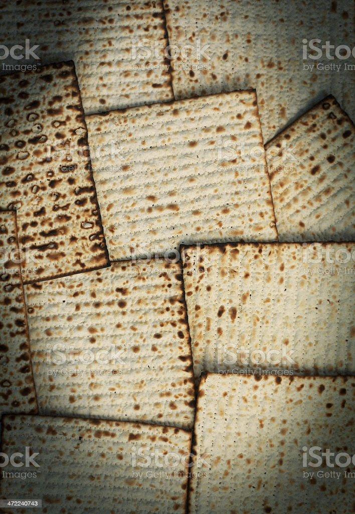 Matzo bread background royalty-free stock photo