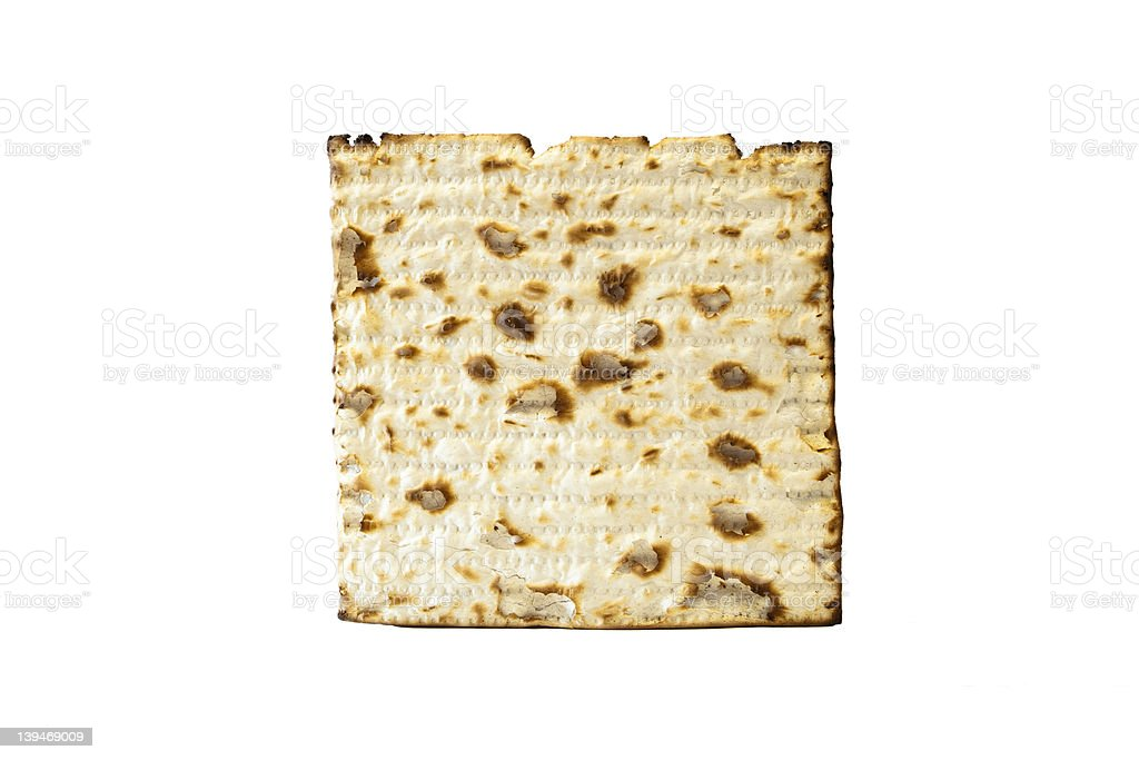 Matzo Cracker royalty-free stock photo