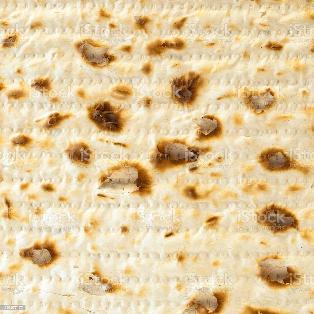 Matzo Cracker up close royalty-free stock photo