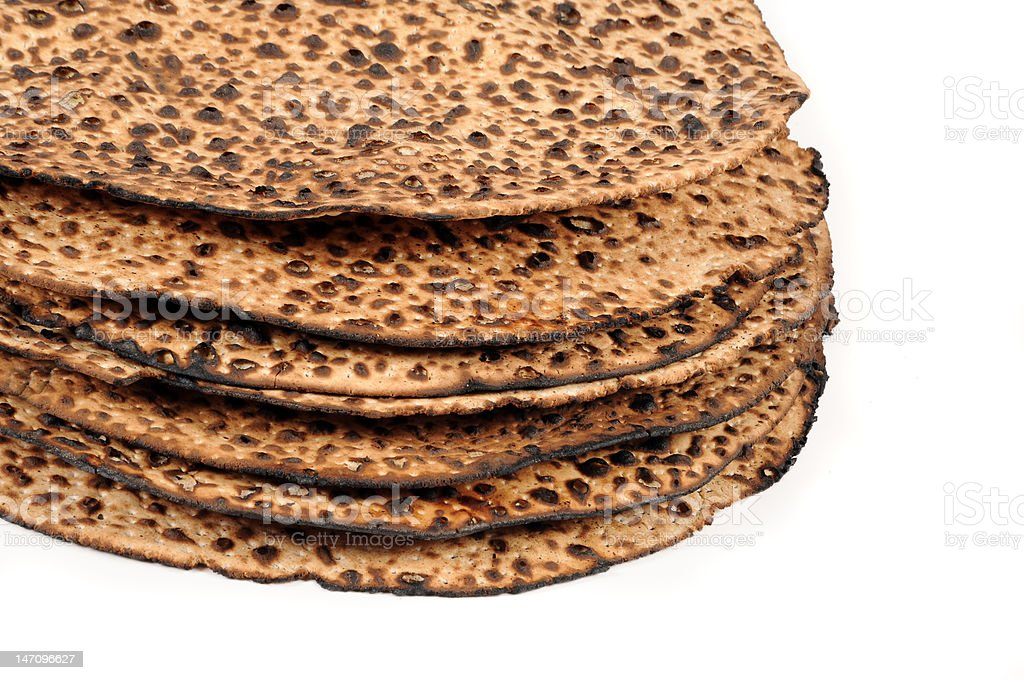 Matzo Pile royalty-free stock photo