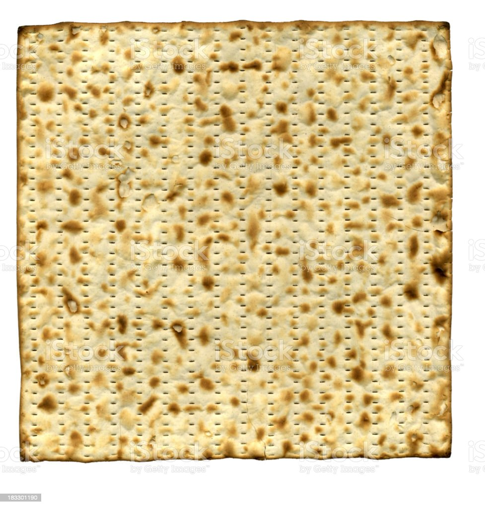 Matzoh - XXXL file royalty-free stock photo
