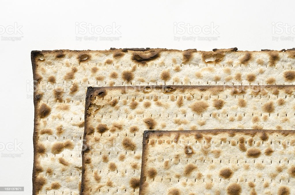 3 matzos royalty-free stock photo