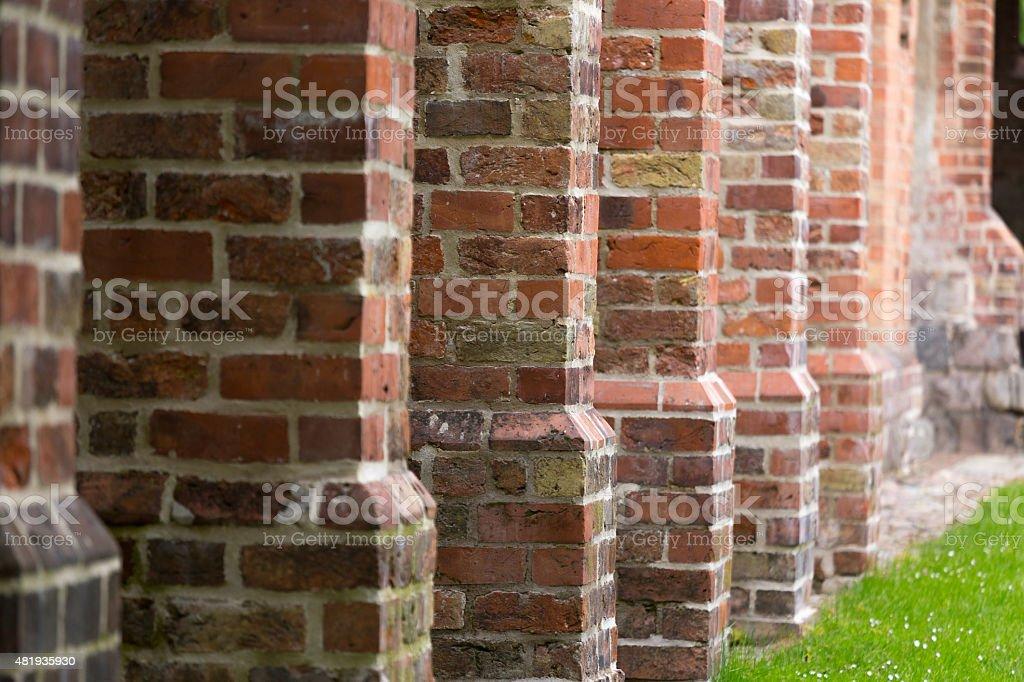 Mauervorspr?nge stock photo