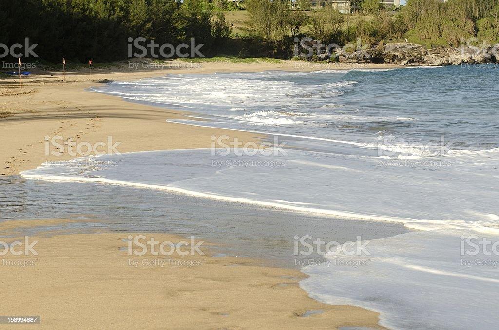 Maui beach front royalty-free stock photo