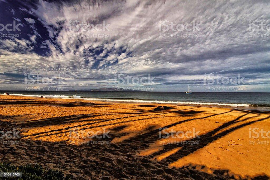 Maui Beach stock photo