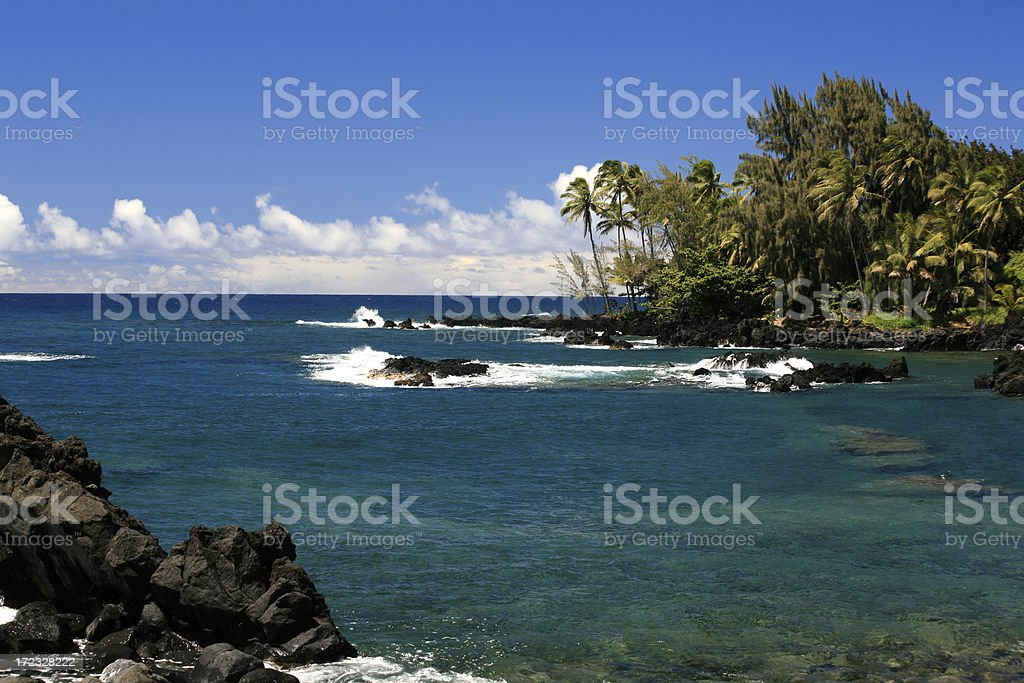Maui coast royalty-free stock photo