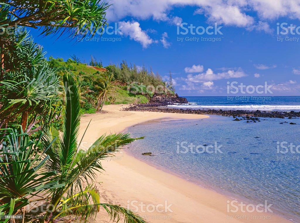 Maui Coastline, Hawaii Islands royalty-free stock photo