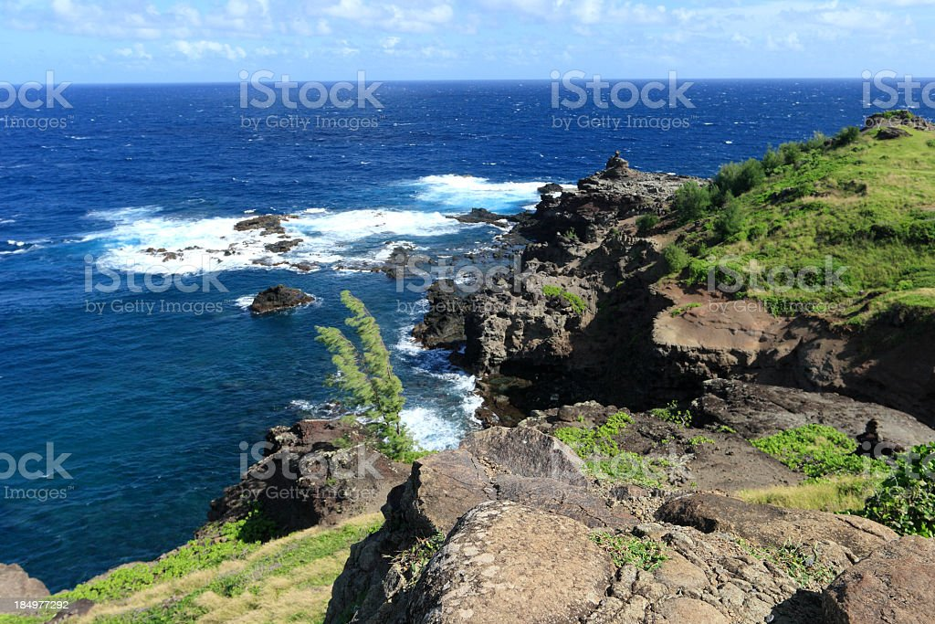 Maui Coastline stock photo