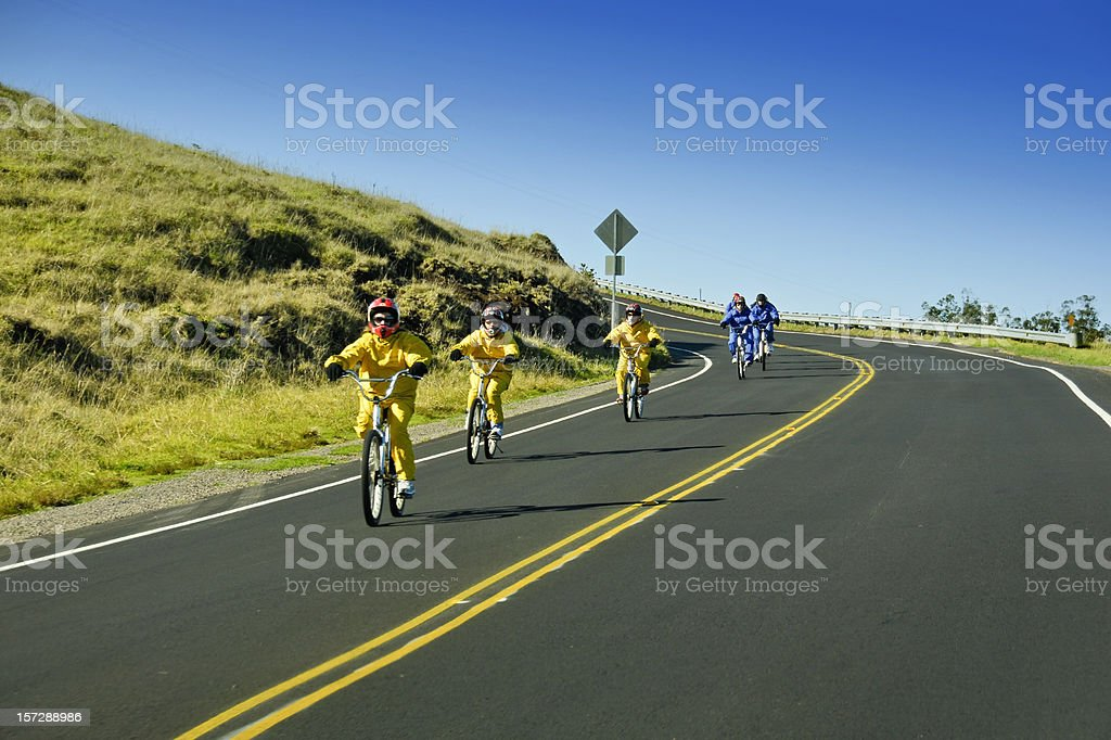 Maui Downhill stock photo
