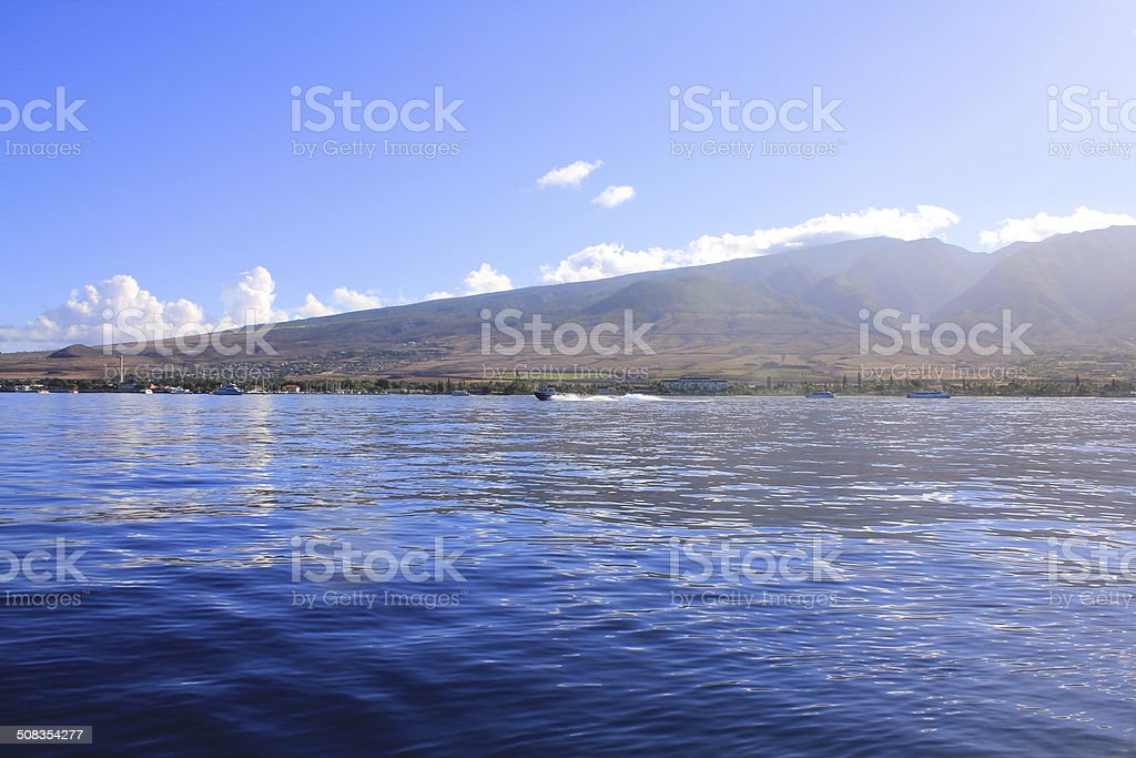 Maui island. Hawaii stock photo