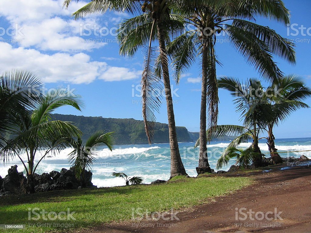 Maui Ocean View royalty-free stock photo