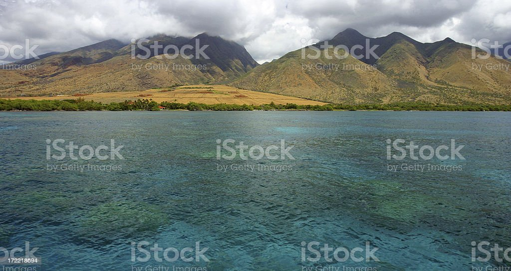 Maui Shore royalty-free stock photo