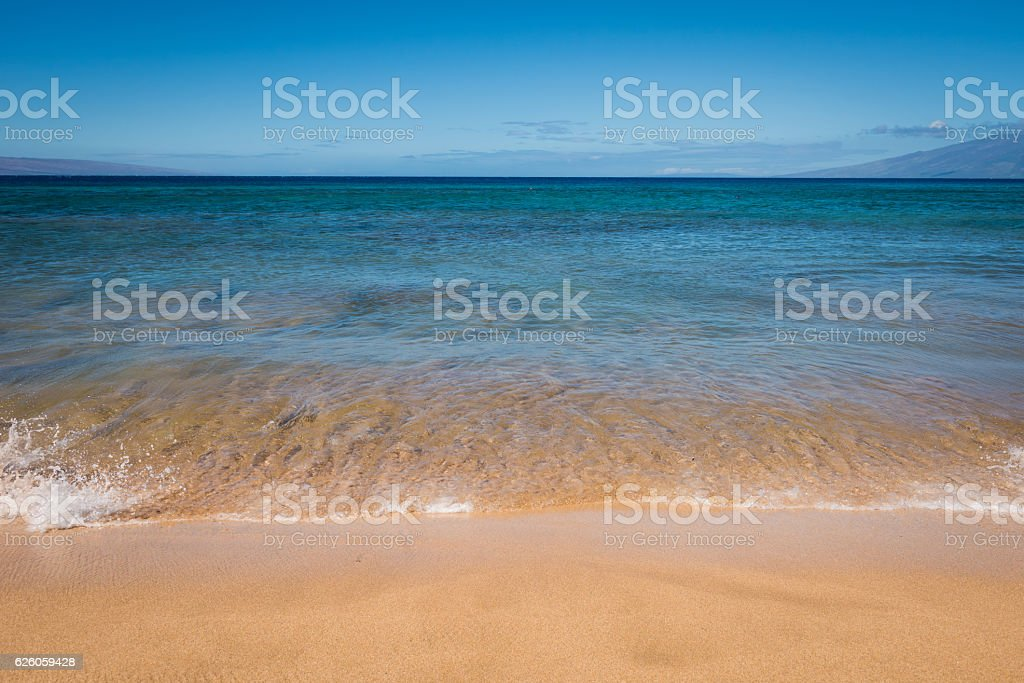 Maui waterfront stock photo