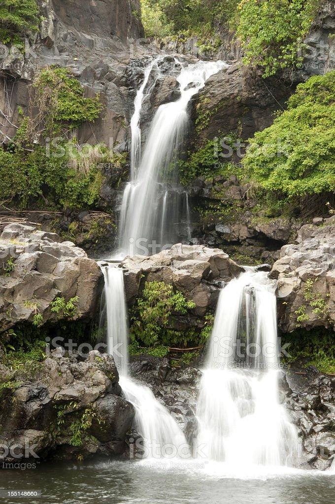 Maui's Seven Sacred Pools stock photo