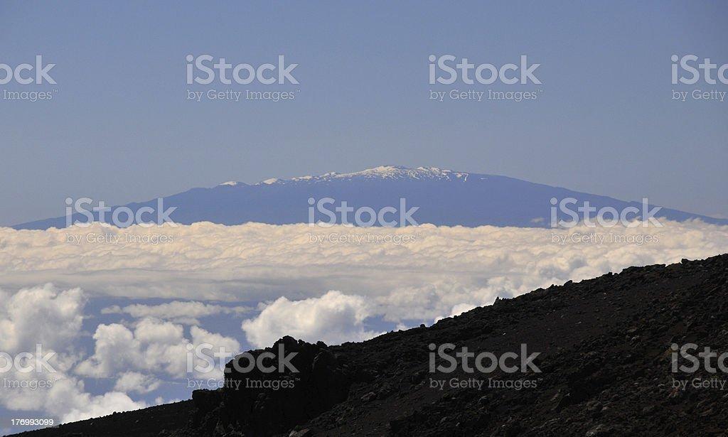 Mauna Kea stock photo