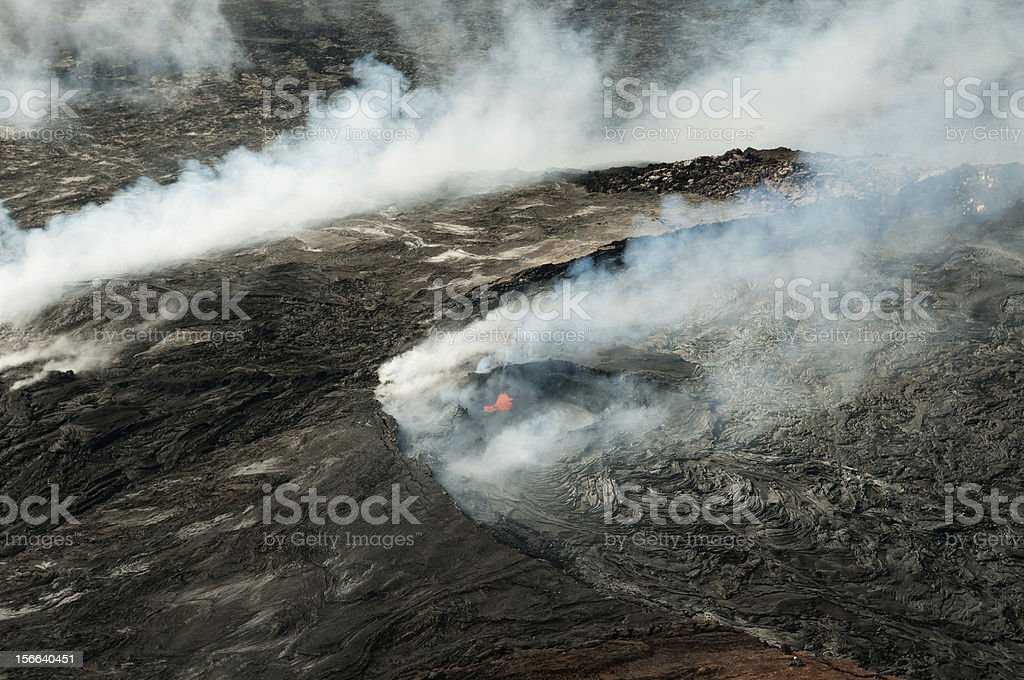 Mauna Kea volcano in Hawaii royalty-free stock photo