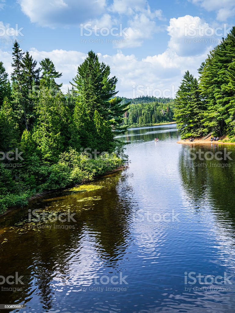 Mauricie National Park stock photo