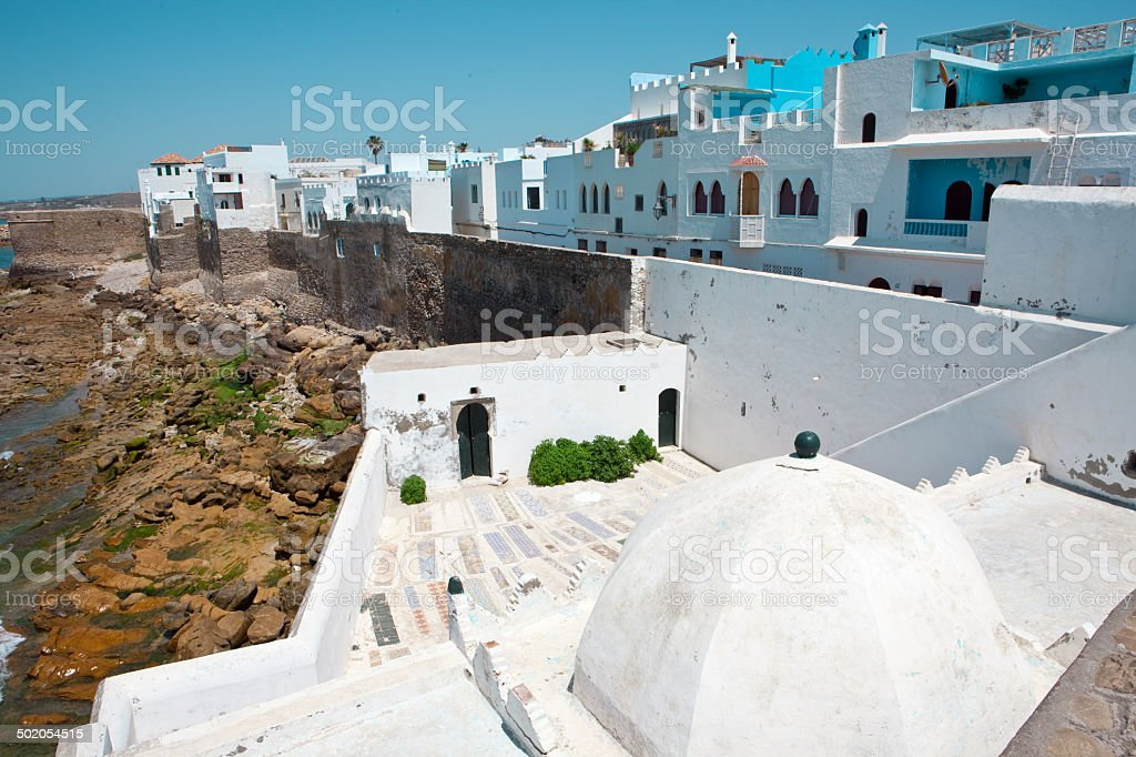 Mausoleum -Asilah - Morocco royalty-free stock photo