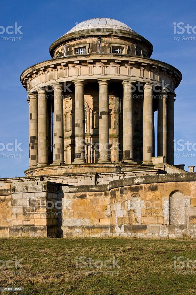 Mausoleum - Castle Howard - North Yorkshire - UK stock photo