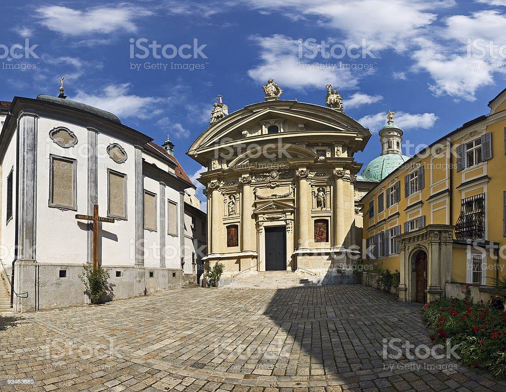 Mausoleum, Graz, Austria royalty-free stock photo