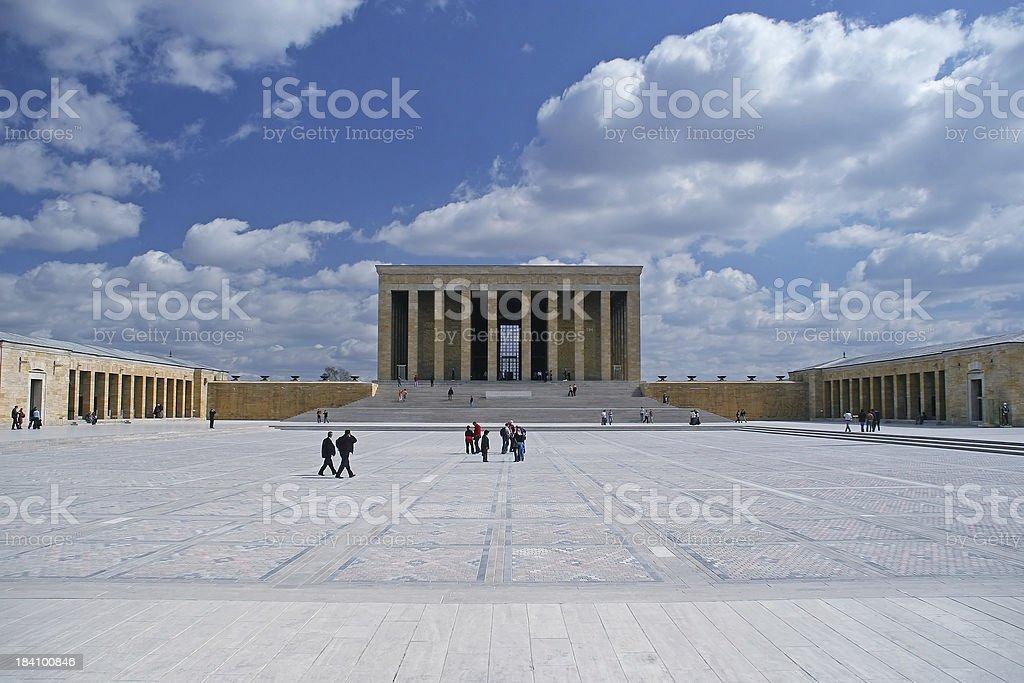 Mausoleum of Ataturk royalty-free stock photo