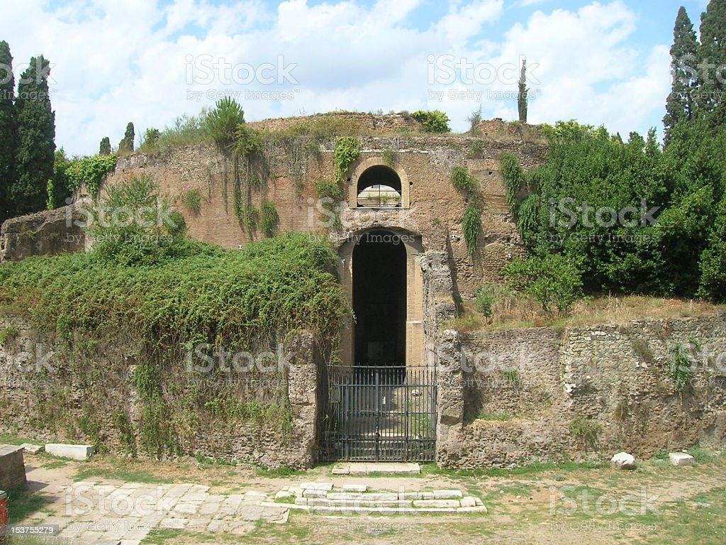 Mausoleum of Augustus stock photo