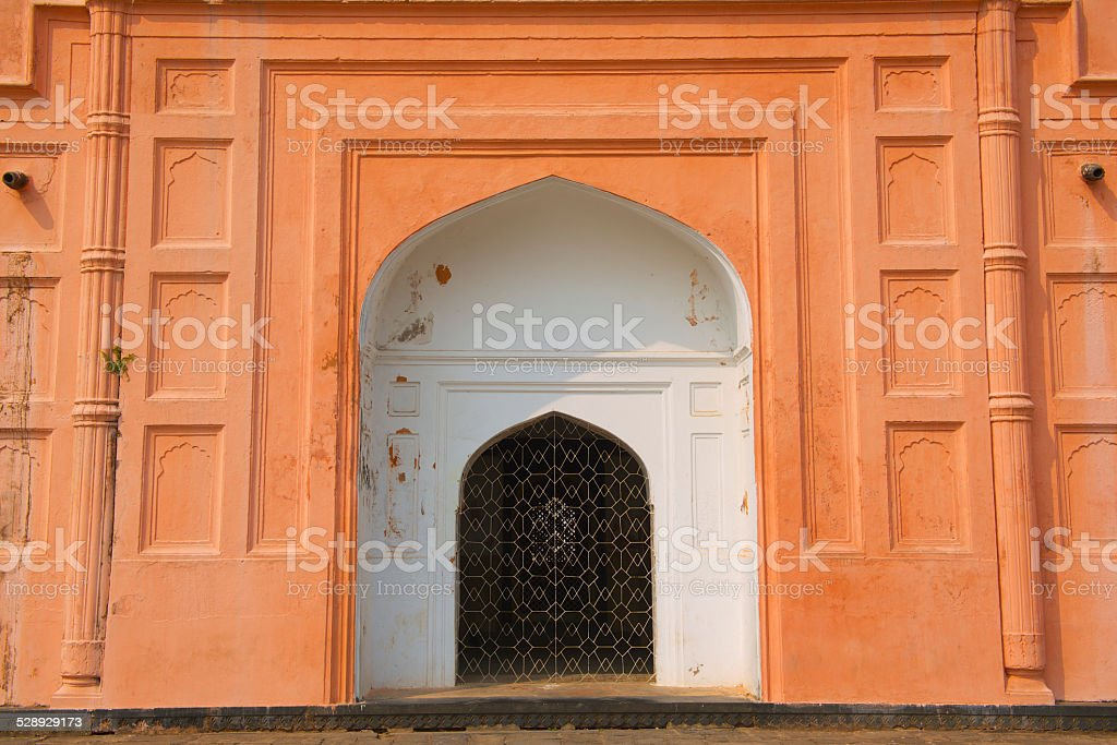 Mausoleum of Bibipari in Lalbagh fort, Dhaka, Bangladesh stock photo
