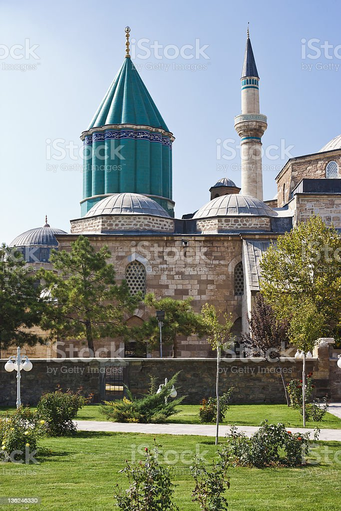 Mausoleum of Mevlana stock photo
