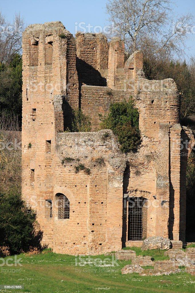 Mausoleum of Romulus stock photo