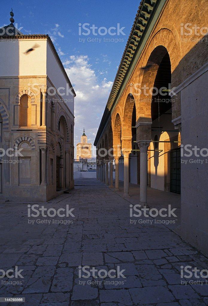 Mausoleum of Youssef Dey in Tunis Medina royalty-free stock photo