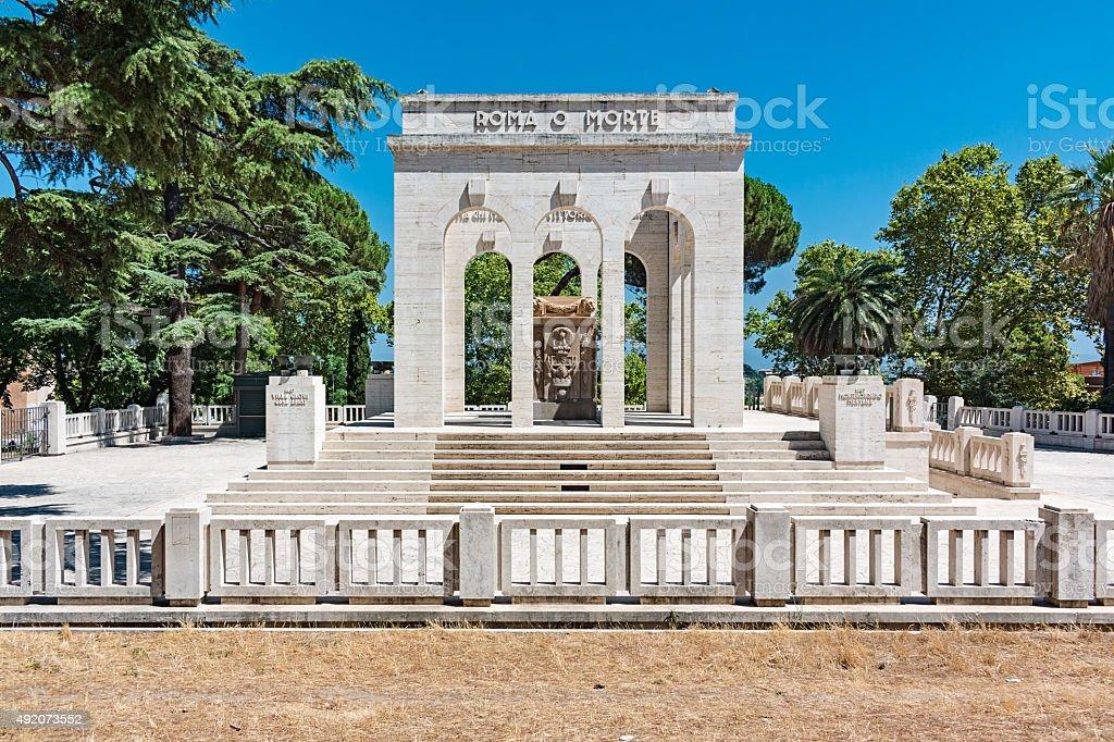 mausoleum ossuary stock photo