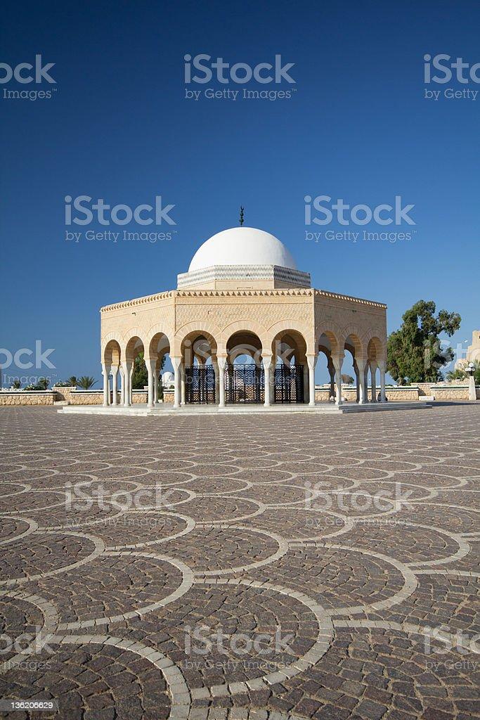 Mausoleum royalty-free stock photo
