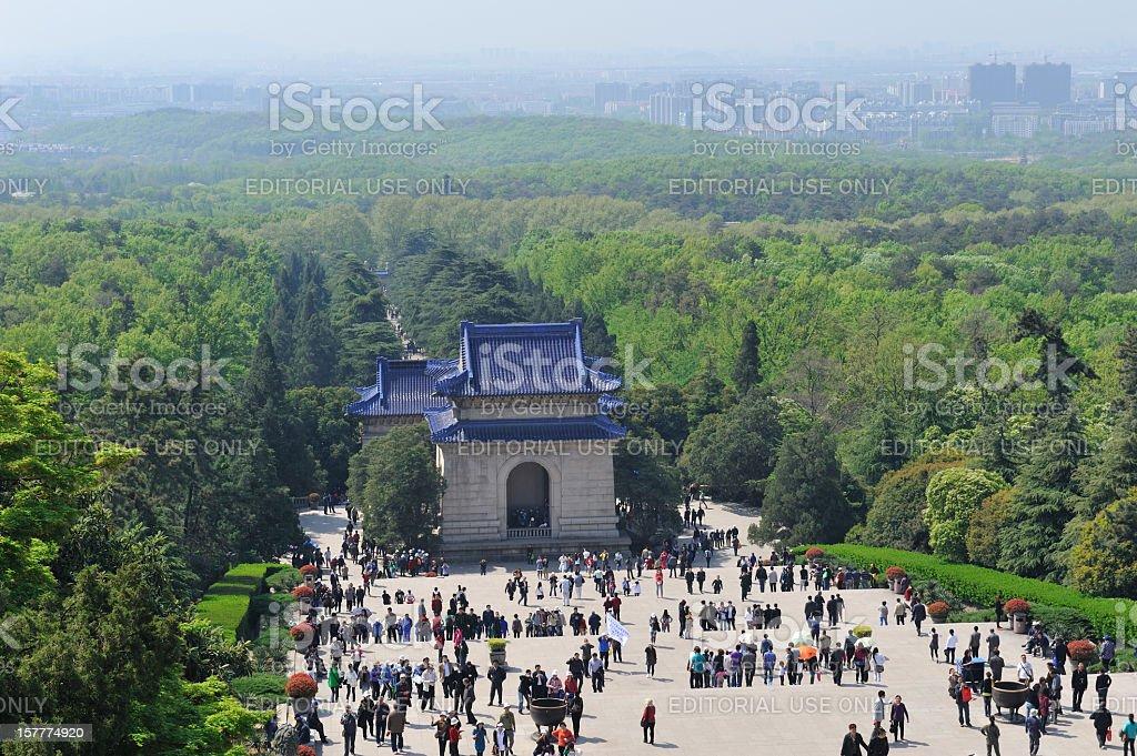 Mausoleum stock photo
