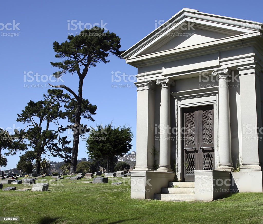 Mausoleum royalty-free stock photo
