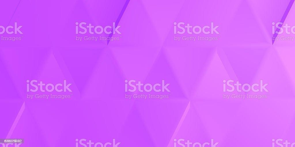 Mauve indented tringles stock photo